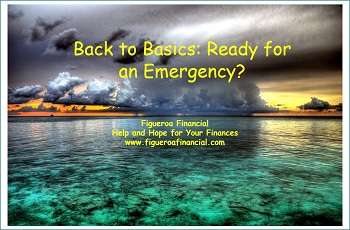 Back to Basics: Ready for an Emergency?