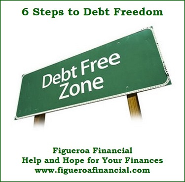 6 Steps to Debt Freedom