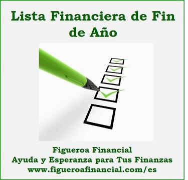 Lista Financiera de Fin de Año