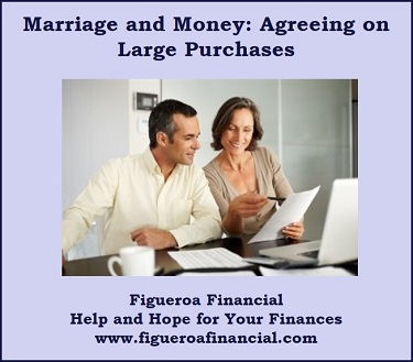 Marriage and Money: Agreeing on Large Purchases