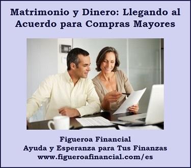 Matrimonio y Dinero: Llegando al Acuerdo para Compras Mayores