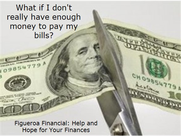 What if I don't really have enough money to pay my bills?
