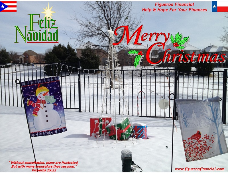 Figueroa Financial Facebook Cover Christmas 2013