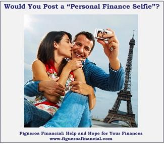 Personal Finance Selfie