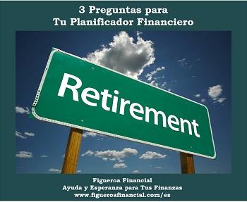 3 Preguntas Tu Planificador Financiero