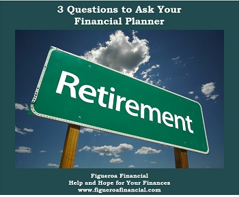 3 Questions Financial Planner