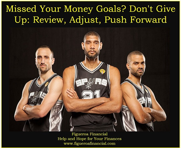 Missed Your Money Goals? Don't Give Up