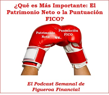 Patrimonio Neto vs. Puntuacion FICO