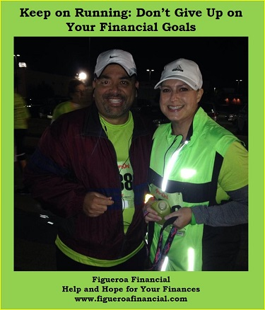 Keep on Running: Don't Give Up on Your Financial Goals