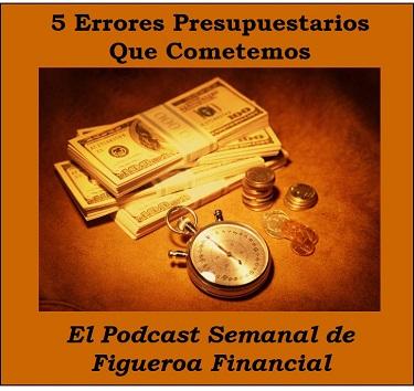 5 Errores Presupuestarios
