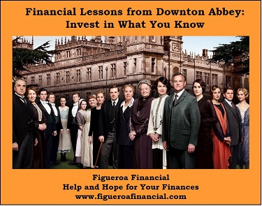 Financial Lessons Downton Abbey
